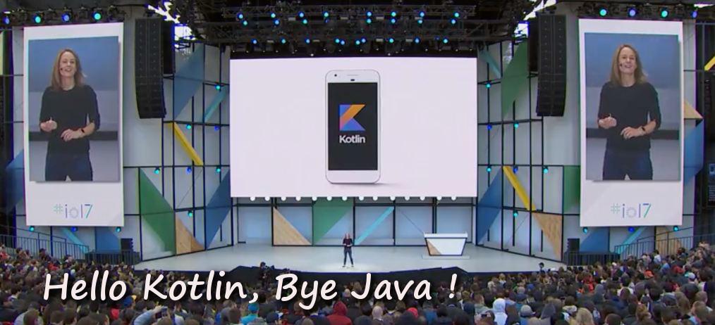 Kotlin accouncement Google