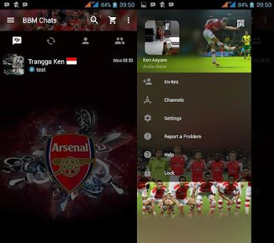 Download BBM MOD Arsenal