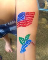 ohio glitter tattoos