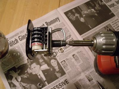Hook up speedometer
