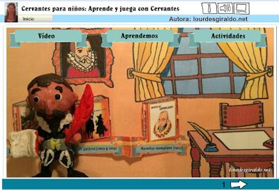 http://lourdesgiraldo.net/cervantes/cervantes.html