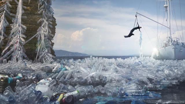 Queste foto mostrano quanta plastica entra in mare ogni 60 secondi