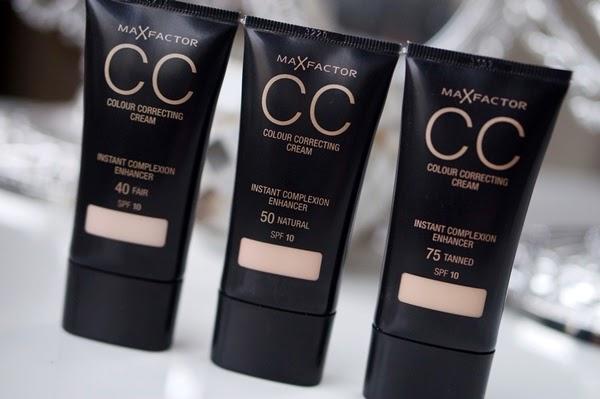 Max Factor CC Colour Correcting Cream review