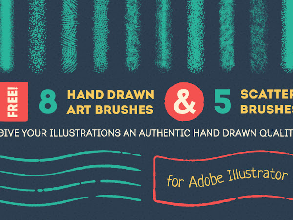 Download Handdrawn Vector Brush Free