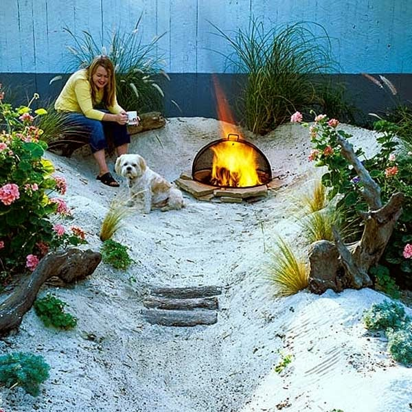 11.) Make a beach in the back yard. - These 29 Do-It-Yourself Backyard Ideas For Summer Are Totally Awesome. Definitely Doing #10!