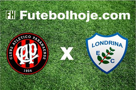 Assistir Atlético-PR x Londrina ao vivo grátis em HD 16/04/2017