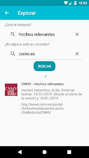 CNMV: Hechos Relevantes