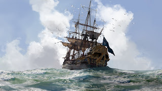 Skull and Bones Desktop Wallpaper