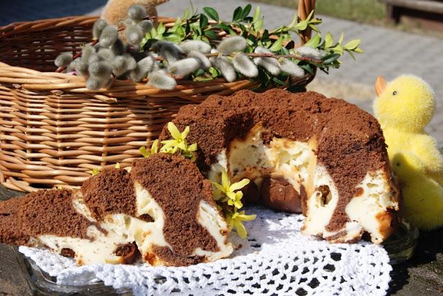 przepisy wielkanoc, szybkie ciasto, pyszne ciasto, przepis na babkę, przepis na babkę z serem, babka twarogowa, babka sernikowa, przepisy na wielkanoc, wielkanocne smakołyki,