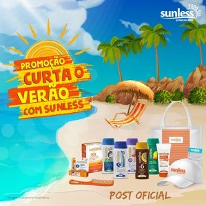 Promoção Sunless 2017 Proteção Solar Curta o Verão