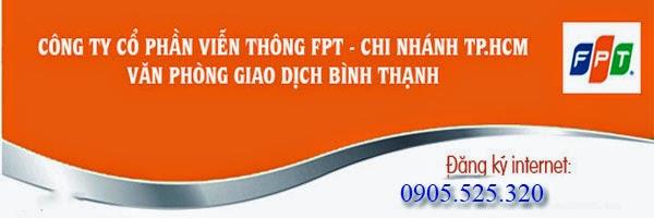 Đăng Ký Lắp Đặt Internet FPT Tại Quận Bình Thạnh