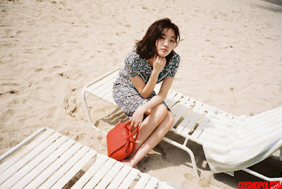 Kim Go Eun - Cosmopolitan Magazine April Issue 2016