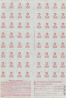 Mileage stamps
