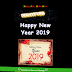 Happy New Year 2019 Festival Wishing Script For Free Blogger And Wordpress. Get New Year Viral Wishing Script For Free