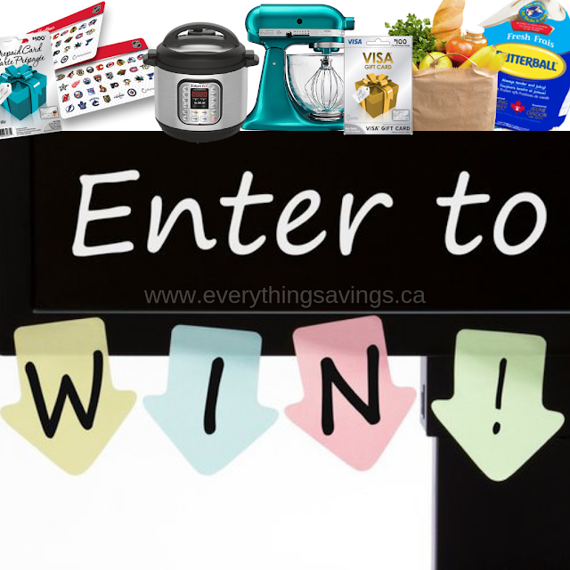 Instant Win Contests for Canada