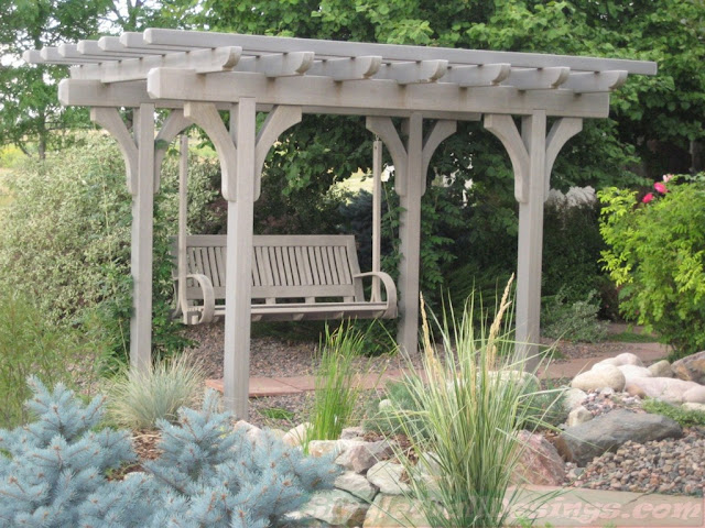 For Your Youngsters And Charming Individuals That Hanging Out In The Exterior Location Pergola Swing Strategies Is Excellent Furnishings Choice To Have