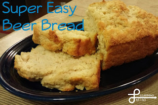 Country Fair Blog Party Blue Ribbon Winner: Learning As I Go's Super Easy Beer Bread