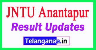 JNTUA Results JNTU Anantapur Result Updates