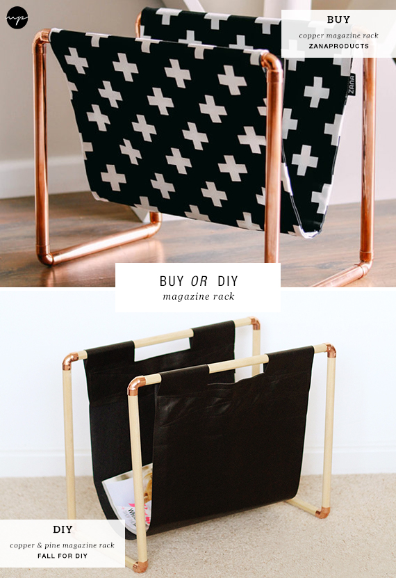 Magazine rack diy tutorial and buying source