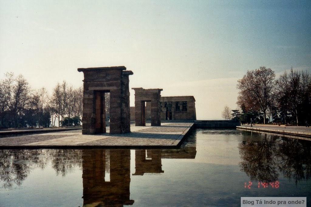 Madri - atrações clássicas e muito além do básico - Templo de Debod