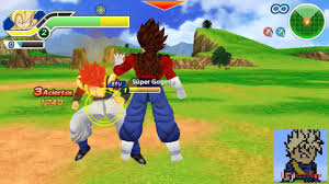 Dragon Ball Z Tenkaichi Tag Team PPSSPP ISO Highly Compressed