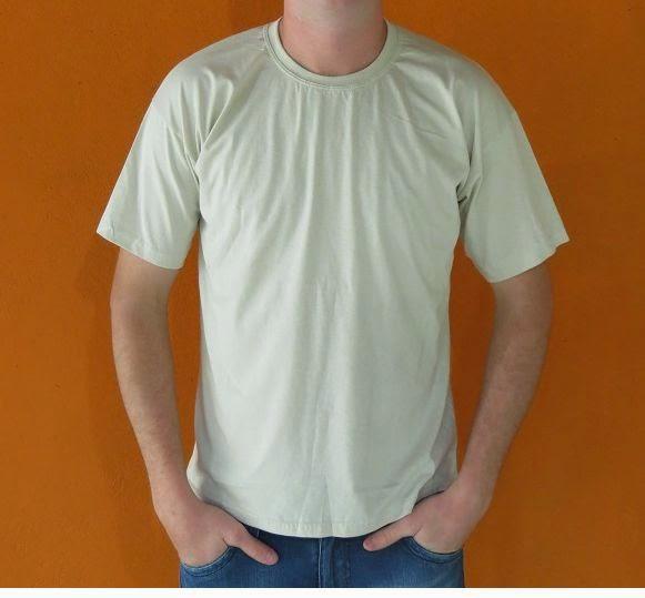 Camiseta lisas coloridas 100% algodão 30 1 Cardada Curta P 57d457b032004