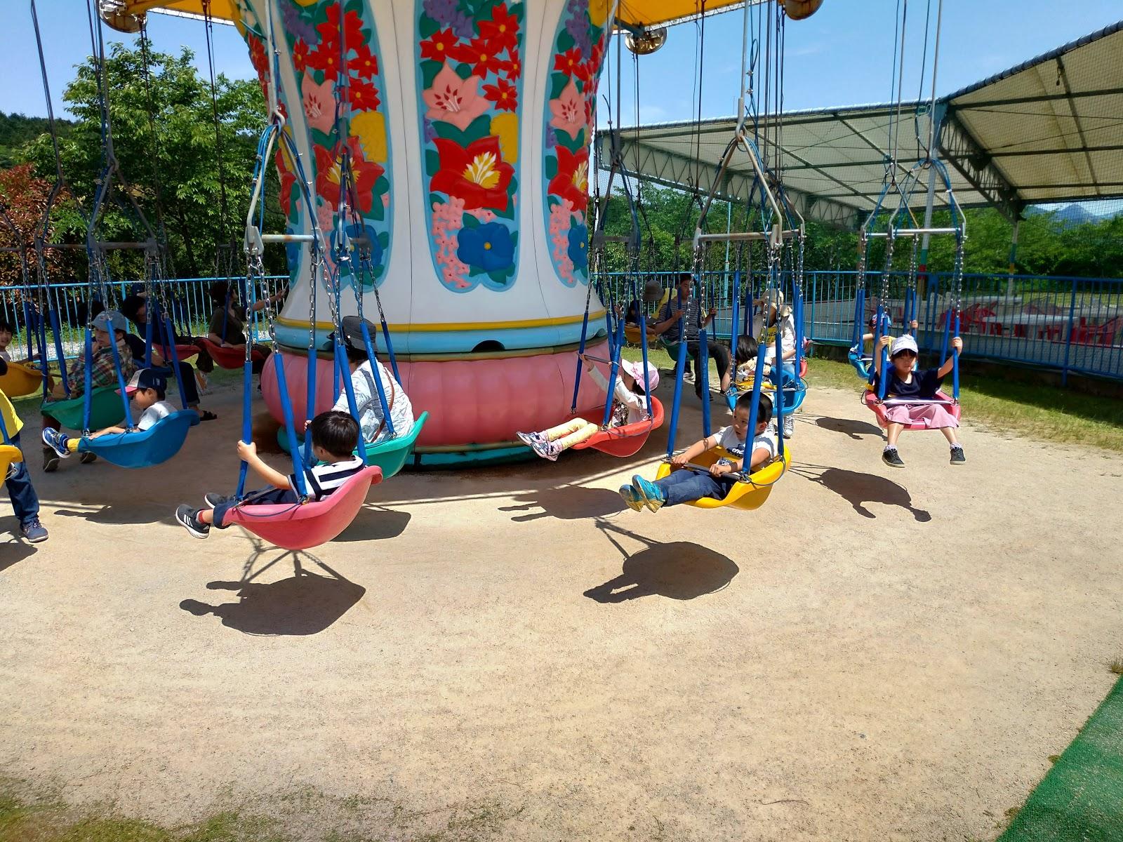 小さい子が遊べるスペースも武雄・嬉しのメルヘン村