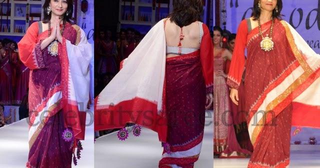 Amala In Pochampally Saree Saree Blouse Patterns