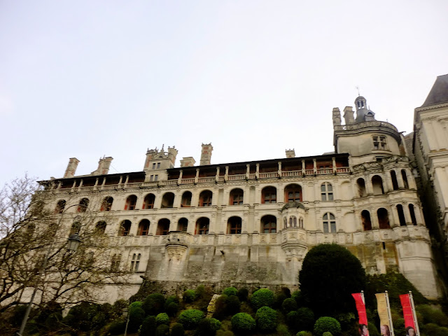 Château de Blois, in the Loire Valley of France