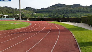 SPORTS AREAS / Pista de Tartan, Castelo de Vide, Portugal