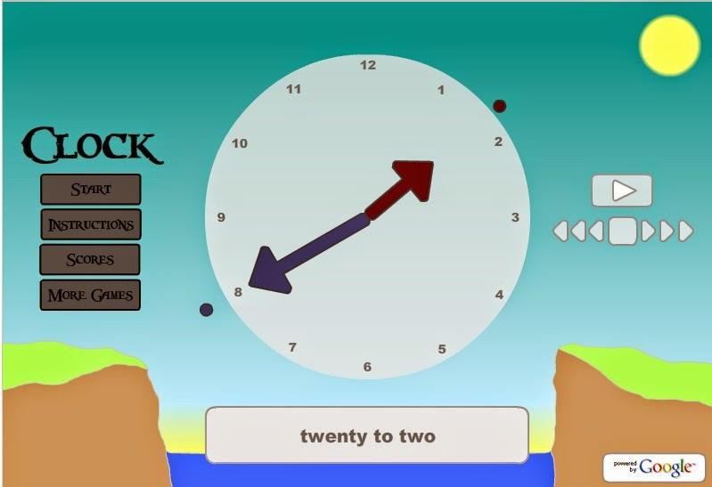 http://gamestolearnenglish.com/clock/