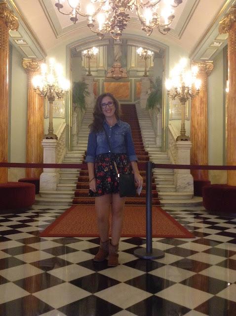 Gran teatro del liceo em barcelona