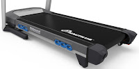 "2016 Nautilus T618 Treadmill's running surface 20x60"" with Rebound Cushioning"