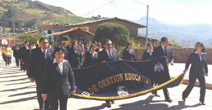 MINEDU otorgó reconocimiento a la UGEL Santiago de Chuco - www.ugelsantiagodechuco.gob.pe