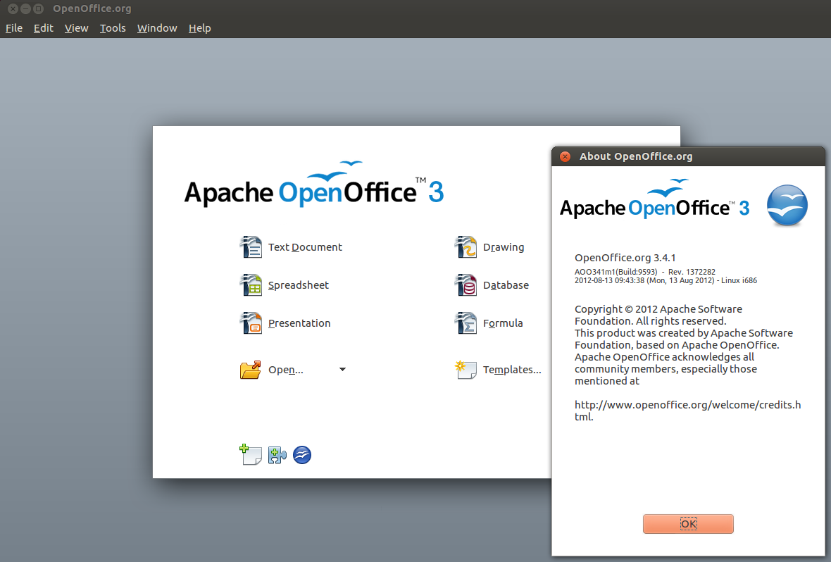 Install Apache OpenOffice 3 4 1 from PPA in Ubuntu/Linux Mint