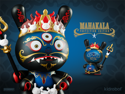 "Kidrobot - Protection Edition Mahākāla 8"" Dunny by Andrew Bell"