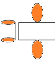 Gambar jaring-jaring tabung