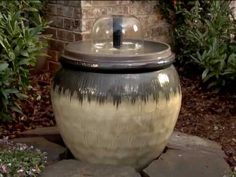 Home Decor Homemade Water Fountain For Unique Small Garden View