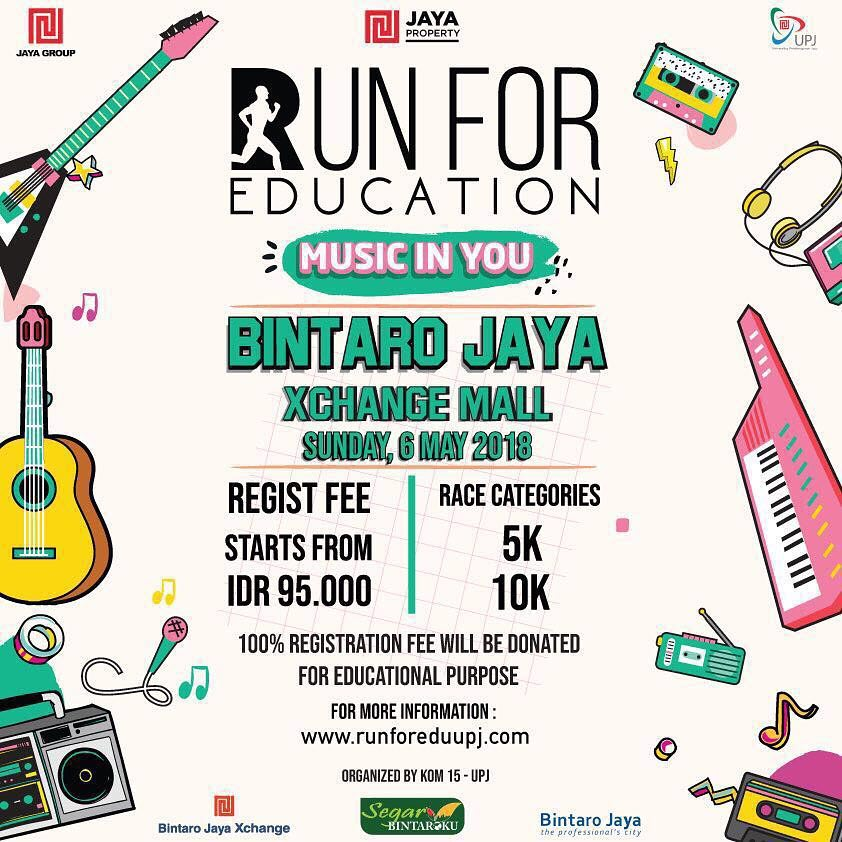 Run For Education - Music In You • 2018