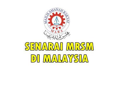 SENARIA MRSM DI MALAYSIA