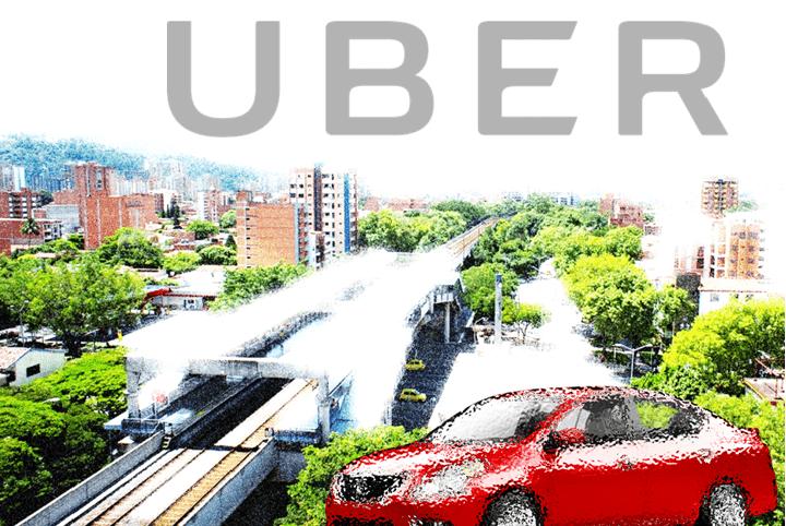 Registrarse en Uber Medellín