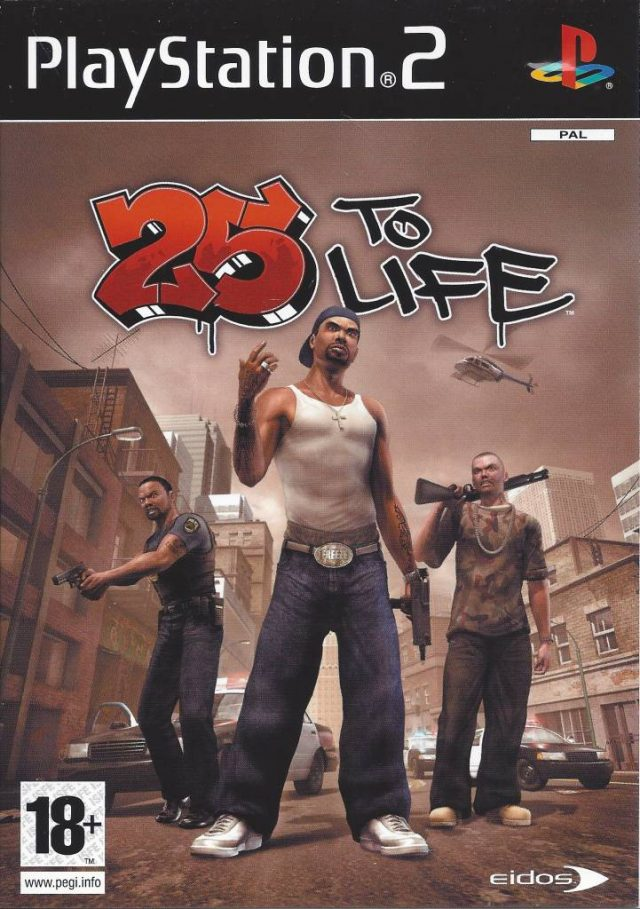25 to Life PAL PS2