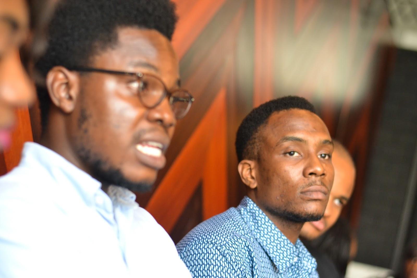 Henri Uduku & Ifeanyi Okafor Male Nigerian Bloggers