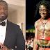 """50 Cent se mostra confuso com estilo do Lil Uzi: """"que p#### é essa?"""""""