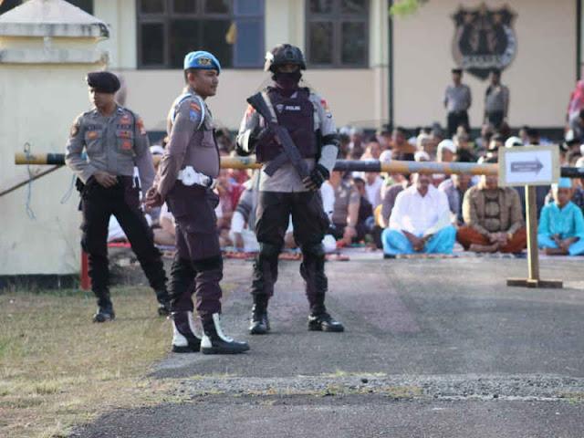 Sholat Idul Adha 1439 H di Tanimbar Berlangsung Aman