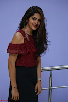 Pavani Gangireddy in Cute Black Skirt Maroon Top at 9 Movie Teaser Launch 5th May 2017  Exclusive 007.JPG