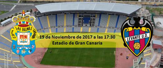 Previa UD Las Palmas - Levante UD 19 Noviembre 17:30