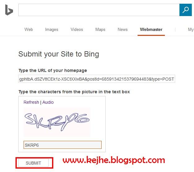 Bing Sitemap: Cara Submit URL Bing (Yahoo) Webmaster