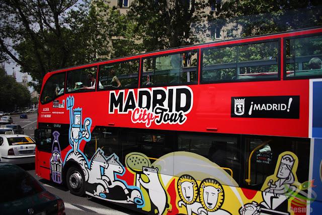 マドリード - 二階建てバス