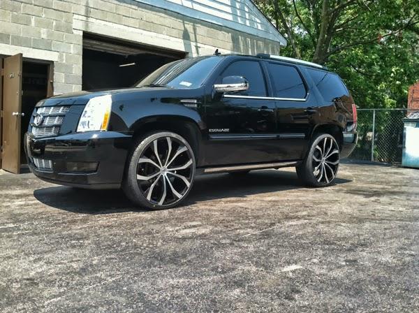 2012 Cadillac Escalade Platinum On 26 Inch Lexani Lust Rims Only